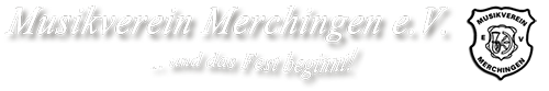 Musikverein Merchingen e.V. Logo